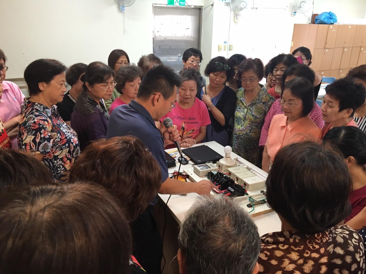 附加圖片,用電安全實地推廣活動成果-台北市